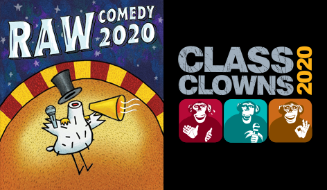 RAW Comedy and Class Clowns events continue