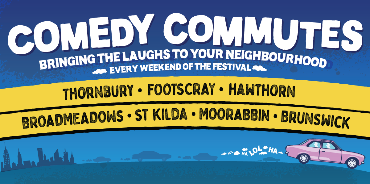 Comedy Commutes - On Sale Now!