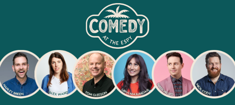 COMEDY AT THE ESPY  |  6pm SUNDAYS IN JAN