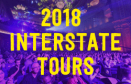 Follow the funny! 2018 interstate tours