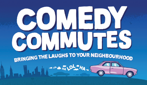 Just announced: Comedy Commutes!