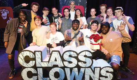 Patti Fawcett takes out Class Clowns!