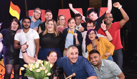Fady Kassab wins RAW Comedy 2019!